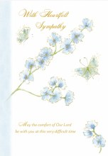 Open Sympathy Card