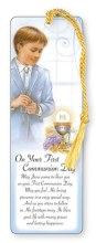 Boy First Holy Communion Bookmark