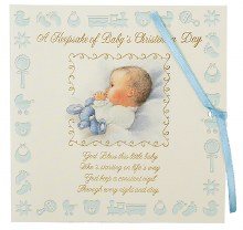 Christening Keepsake Boy