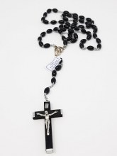 Black Loose Rosary Beads