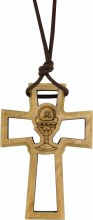 Confirmation Dove Cross on Cord