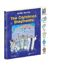 The Christmas Shepherds: Tabbed Board Book