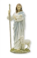 Veronese Good Sheperd Statue (27cm)