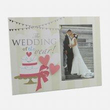 Wedding of the Year Photo Frame