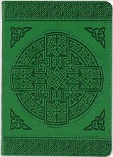 Celtic Artisan Small Journal Embossed Green