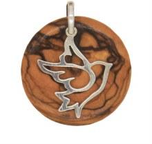 Dove Star of Bethlehem Pendant