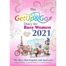 2021 Get Up and Go Diary for Busy Women, paperback