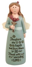 39532 Daughters Message Angel 10cm