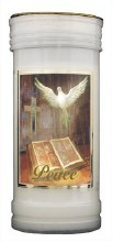 Dove of Peace Candle