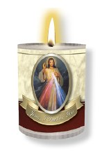 Divine Mercy Prayer Votive Candle