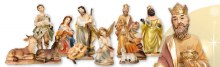 11 Piece Resin nativity Set (11cm)