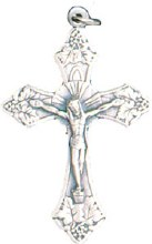 Metal Crucifix (4cm)