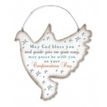 Confirmation Dove Plaque