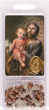 St. Joseph Rosary Beads and Leaflet