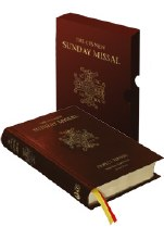 The CTS New Sunday Missal, Burgundy leather in box