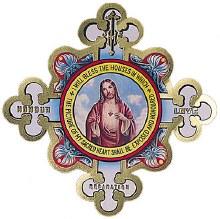 Sacred Heart Door Shield