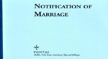 Book of Notification of Marriage Certificates