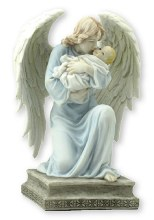 Veronese Angel and Child Statue (18cm)