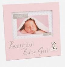 Pink Baby Girl Photoframe