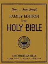 NAB Family Bible, White, Padded, Gilt edge