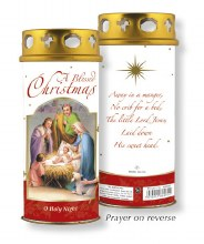 A Blessed Christmas Candle