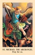 Prayer to St. Michael Prayercard - pack of 100