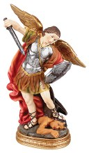 57926 St Michael Statue 40cm