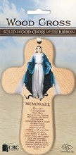 Miraculous Wooden Cross with Prayer (15cm)