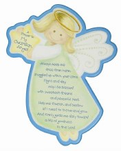 Guardian Angel Plaque 28 x 32 cm