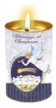 Christmas Nativity Candle