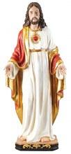 48642 Sared Heart Statue Fiberglass  120cm