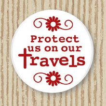 Protect Us As We Travel Pocket Token