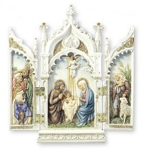 Veronese Holy Family Triptych