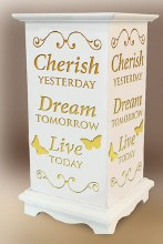 Cherish Dream Live LED Wood Lantern