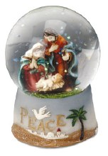 Holy family Nativity Waterball (6cm)