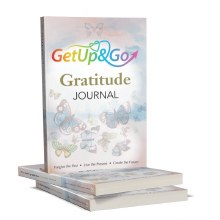 Get Up and Go Gratitude Journal