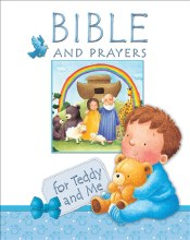 RUC - Bible and Prayers for Teddy and Me, blue
