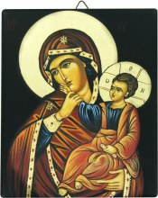 Madonna and Child icon 13 x 16 cm