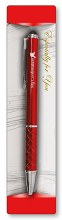Red Metal Confirmation Pen