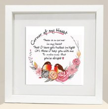 CH007 Keep You With Me Corner of My Heart Frame
