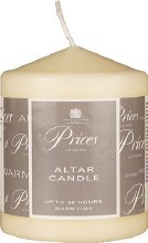 Altar candle 4 x 3