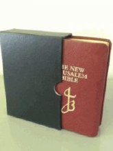 New Jerusalem Bible Red Leather