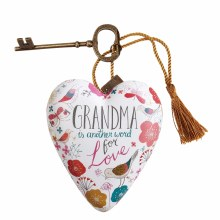 Grandma Heart with Key