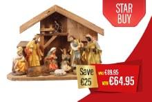 A Star is Born Nativity Set