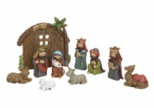 10 Piece Childrens Nativity including backdrop