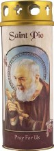 Padre Pio Windproof Cap Candle