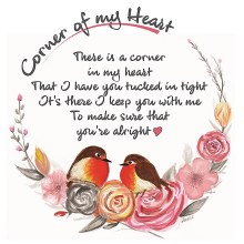CHC007 Keep You With Me Corner of My Heart Card