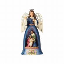 Jim Shore A Saviour For All Nativity Angel