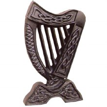 Small Irish Harp Wall Hanging