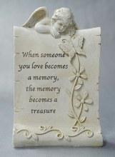 8507 Treasure Memorial Angel  15 x 21 cm